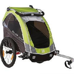 Burley Kids' Solo Trailer Green