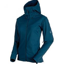 Mammut Women's Ultimate V SO Hooded Jacket Jay / Jay Melange