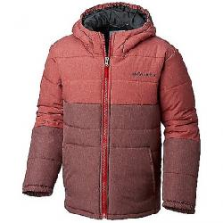 Columbia Youth Boys Puffect Jacket Mtn Red / Red Element Heather