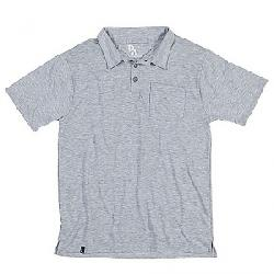 Duckwoth Men's Vapor Wool Polo Standard Grey