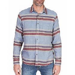 Faherty Reversible Belmar Long Sleeve Shirt Light Grey / Serape