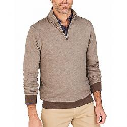 Faherty 1/4 Zip Sweater Chestnut