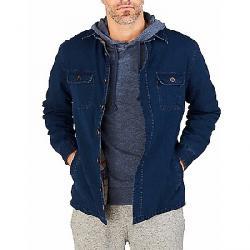 Faherty Blanket Lined CPO Jacket Indigo