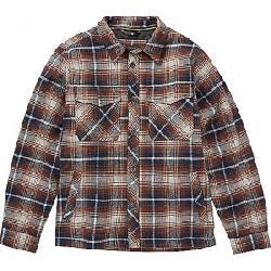 Billabong Men's Barlow Plaid Jacket Pewter