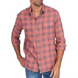 Faherty Belmar Long Sleeve Shirt Dust Red Buffalo