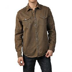 Jeremiah Men's Colt Suede Cotton Shirt Mole