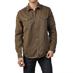 Jeremiah Men's Colt Suede Cotton Shirt Mole