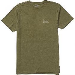 Billabong Men's Die Cut Short Sleeve Shirt Military Heather