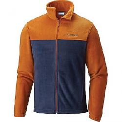 Columbia Men's Steens Mountain Full Zip 2.0 Jacket Bright Copper / Collegiate Navy