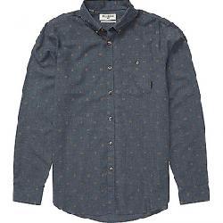 Billabong Men's All Day Jacquard LS Shirt Navy Heather