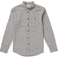 Billabong Men's All Day Jacquard LS Shirt Pewter Heather