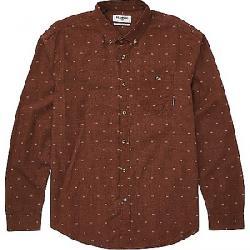 Billabong Men's All Day Jacquard LS Shirt Rust Heather