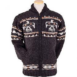 Laundromat Men's Eagle Sweater Black Natural