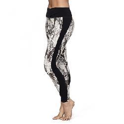 Manduka Women's Wrapped Up Legging Sidewinder Print / Black