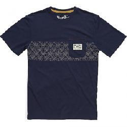 Howler Bros Men's Classic Pocket T-Shirt Sapphire / Sashiko Shell Print