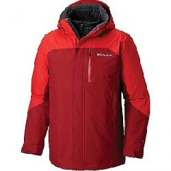 Columbia Men's Lhotse II Interchange Jacket Red Element / Red Spark
