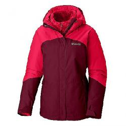 Columbia Women's Bugaboo II Fleece Interchange Jacket Rich Wine / Red Mercury