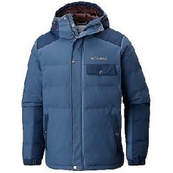 Columbia Men's Winter Challenger Hooded Jacket Dark Mountain / Collegiate Navy