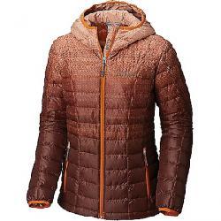Columbia Women's Voodoo Falls 590 TurboDown Hooded Jacket Bright Copper Gradient Print