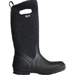 Bogs Women's Crandall Tall Wool Boot Black