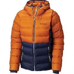 Columbia Women's Explorer Falls Hooded Jacket Nocturnal / Bright Copper