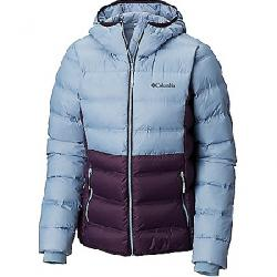 Columbia Women's Explorer Falls Hooded Jacket Dark Plum / Dark Mirage