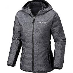 Columbia Women's Lake 22 Reversible Hooded Jacket Charcoal Heather Print
