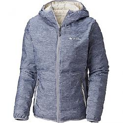 Columbia Women's Lake 22 Reversible Hooded Jacket Astral Heather Print