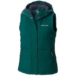 Columbia Women's Winter Challenger Hooded Vest Dark Ivy