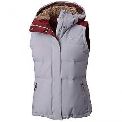 Columbia Women's Winter Challenger Hooded Vest Astral / Rich Wine