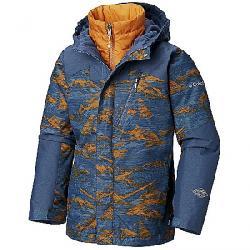 Columbia Youth Boys Whirlibird II Interchange Jacket Dark Mtn Mountains Print