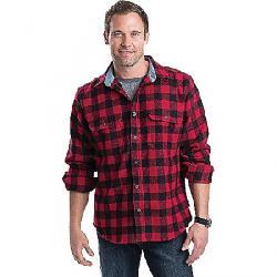 Woolrich Men's Wool Buffalo Shirt Red / Black