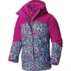 Columbia Youth Girls Bugaboo II Fleece Interchange Jacket Atoll Floral Print