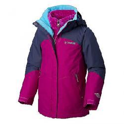 Columbia Youth Girls Bugaboo II Fleece Interchange Jacket Bright Plum / Nocturnal
