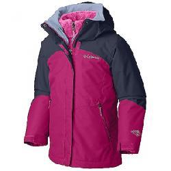 Columbia Youth Girls Bugaboo II Fleece Interchange Jacket Cactus Pink / Nocturnal