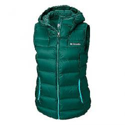 Columbia Women's Explorer Falls Hooded Vest Dark Ivy
