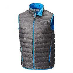 Columbia Men's Lake 22 Down Vest Charcoal Heather Print