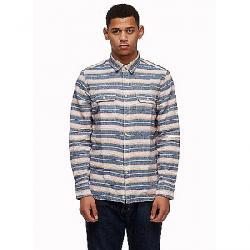 Penfield Men's Hammat Indigo Stripe Shirt Navy