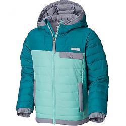 Columbia Youth Mountainside Full Zip Jacket Emerald / Pixie