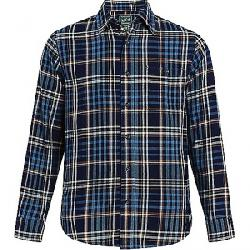 Woolrich Men's Eco Rich Indigo Shirt Bluestone
