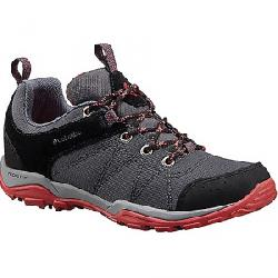 Columbia Women's Fire Venture Textile Shoe Graphite / Sunset Red
