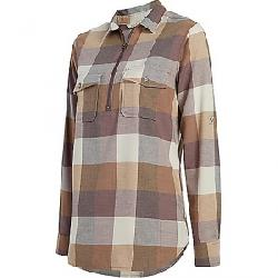 Woolrich Women's Any Point Convertible Flannel Shirt Wild Aster Multi