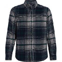 Woolrich Men's Eco Rich Twisted Oxbow Shirt Deep Indigo Twist