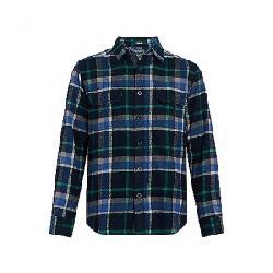 Woolrich Men's Oxbow Bend Classic Flannel Shirt Deep Alpine Blue