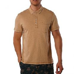 Jeremiah Men's Dixon Twist Yarn SS Jersey Polo Gingersnap