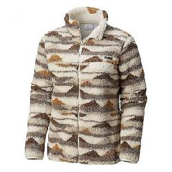 Columbia Women's Mountain Side Heavyweight Fleece Full Zip Light Bisque Print