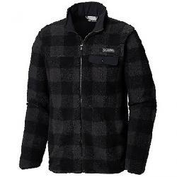 Columbia Men's Mountain Side Heavyweight Full Zip Fleece Jacket Black Plaid