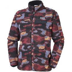 Columbia Men's Mountain Side Heavyweight Full Zip Fleece Jacket Elderberry Camo
