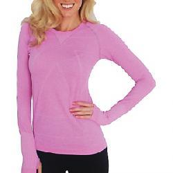 Zensah Women's Run Seamless L/S Shirt Heather Pink