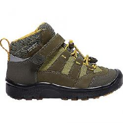 Keen Kid's Hikeport Mid Waterproof Shoe Dark Olive / Citrus